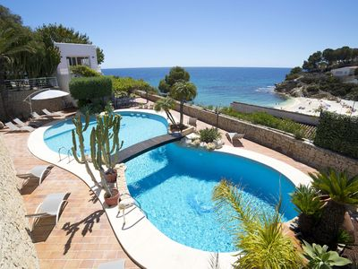 Photo for This 5-bedroom villa for up to 10 guests is located in Calpe and has a private swimming pool, air-co