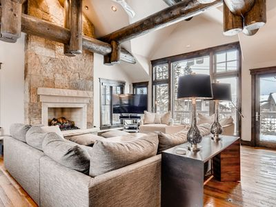 Photo for Rustic-Chic Mountain Retreat