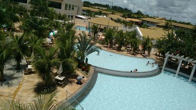 Photo for Flat with water park with 12 swimming pools, including one with waves