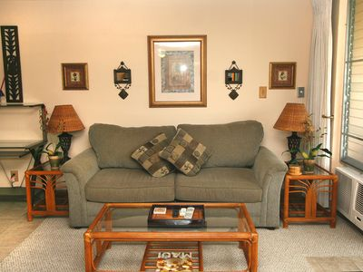 Photo for Beautiful Kihei Kai Nani 162, 1BR Condo by Kamaole Beach 2, W/D, Cal King, Wi-Fi