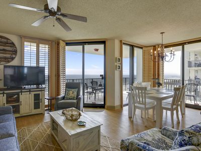 Photo for Unforgettable Beach Front View - Spacious Luxury Corner Condo - My Beach Getaways