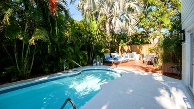 Photo for An oasis of calm in mid-town Key West— just a few short blocks to the beach.