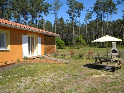 Photo for Appartment 40 m2 - 2 bedrooms 4/6 people - WIFI - STE EULALIE EN BORN
