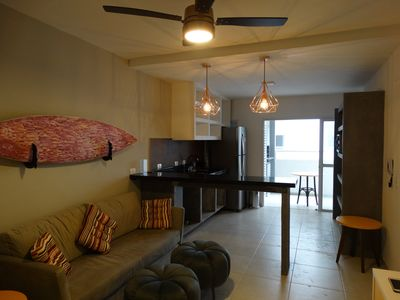 Photo for New and charming apartment in Ubatuba with swimming pool, playground and garage.
