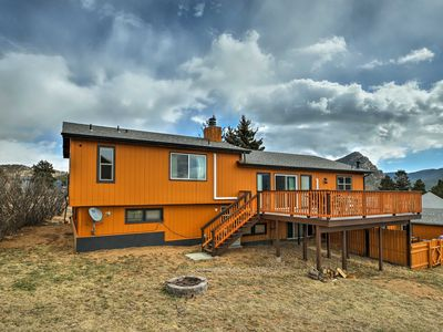 Photo for Spacious Estes Park Apt w/ Pool & Hot Tub Access!