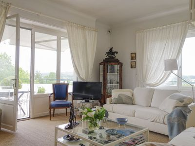 Photo for Very nice apartment in a quiet overlooking the golf course and the mountain