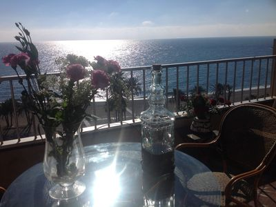 "Photo for 1st LINE / EXCEPTIONAL VIEWS / SUPERB ""ATICO"" 144M2 / TERRACES / WIFI /"