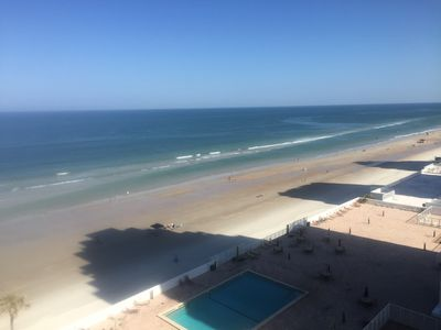 Photo for Lovely 2 Bedroom / 2 Bath Condo with SE View of Beach