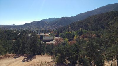 Nestled in the foothills of Manitou Springs but town is just a walk away!