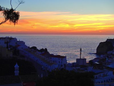 Photo for A beautiful 2 bedroom sea view apartment overlooking Carvoeiro Bay.