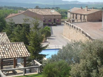 Photo for Self catering rural house Can Bartomeu 1 h from Barcelona. Private swimmingpool
