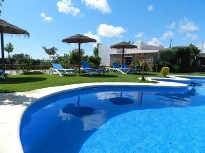 Photo for Romantic Apartment with Beautiful Pool, Jacuzzi, Patio, & Wi-Fi