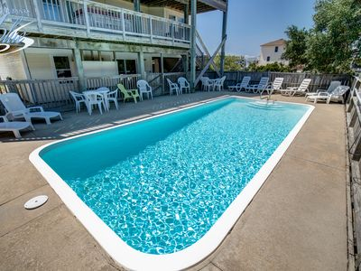 Photo for Beachcomber | 1420 ft from the beach | Dog Friendly, Private Pool, Hot Tub