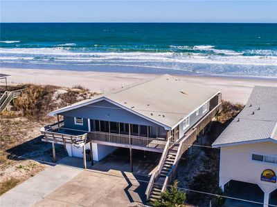 Photo for Blue Shamu: 4 Br / 2 Ba Oceanfront In Topsail Beach, Sleeps 8