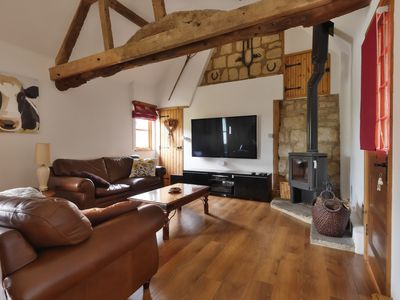 """Photo for Cottage In Rural Village Location Near Aylesbury & Milton Keynes With 65"""" TV"""