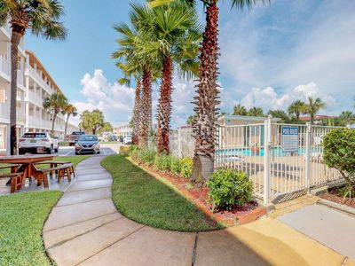 Photo for NEW LISTING! Gorgeous coastal condo with beach views and two shared pools