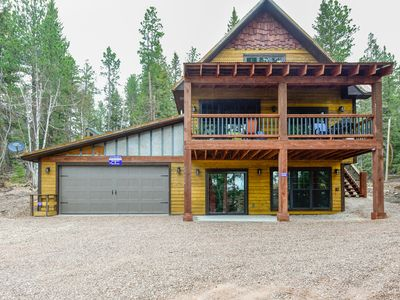 Photo for Timberland Lodge - Stunning New Family Cabin with beautiful scenery!