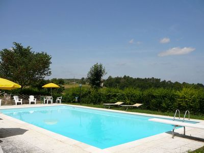 Photo for 2 bedroom Villa, sleeps 3 in San Marziale with Pool