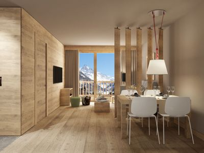 Photo for Apartment SWISSPEAK Resorts Weisshorn in Zinal - 4 persons, 1 bedrooms