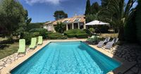 Beautifully located and equipped house in secluded part of village with great view and fab pool