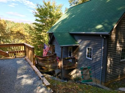 Photo for 2BR Cabin Vacation Rental in Boone, North Carolina