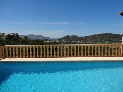 Photo for Luxury Villa Monte Ped, max 6, private pool, air con, wifi, stunning view.