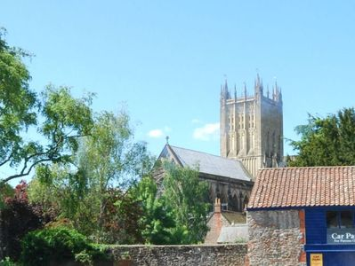 Stunning view of the cathedral from the cottage