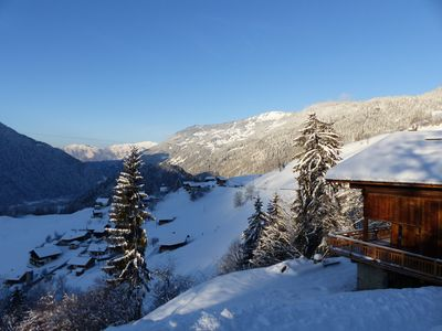 Photo for Mountain chalet, near Hauteluce Les SaisiesLes Contamines, Arèches. Easy access