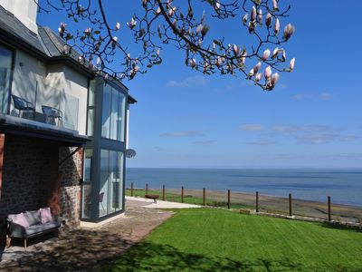 Photo for Stunning coastal home with panoramic sea views in Porlock Weir - 6 bed / 6 bath