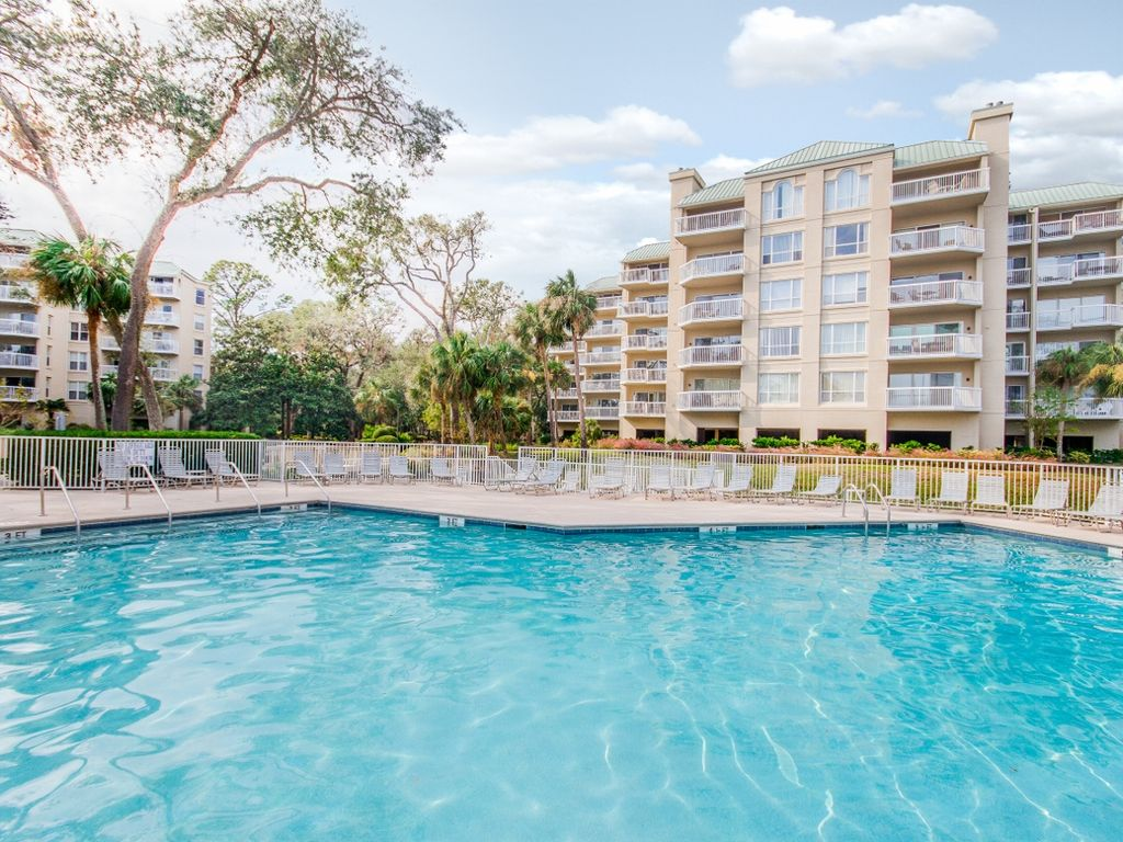 Spacious 3br Palmetto Dunes Oceanfront Condo W Large Pool Great Location Homeaway