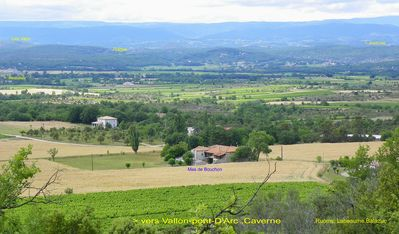 Photo for South-Ardèche hiring, Mas in the Cultivated Fields, Calm, Sun, Nature, Rest.