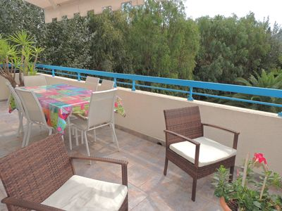 Photo for French Riviera / Pt breakfasts included / Pool / House / Private Room-DEBAINS / Terrace