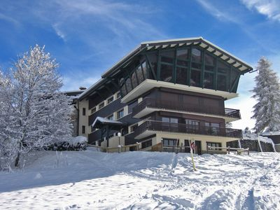 Photo for Self catering ski-in/ski-out Studio Marg - right on Chavannes piste in Les Gets