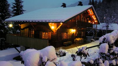Photo for Chalet Gallois Self catered traditional chalet for 10 in beautiful Chatel