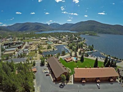 Photo for Downtown Lakeside location! Close to Rocky Mountain National Park.