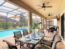 Covered Lanai-West Facing Heated Pool & SPA