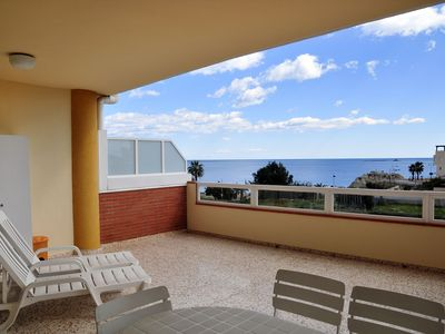 Photo for FIRST LINE, GREAT TERRACE, free wi-fi - COSTA BLANCA, VILLAJAOYOSA
