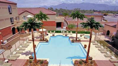 Photo for 2BR w/WiFi & Resort Pool Near Attractions- Golf, Hike, Explore, Shop & Dine!