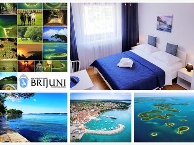 Photo for Deluxe room 2# (NP Brijuni,150m sea/centre)