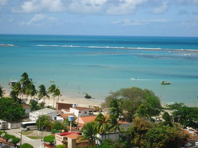 Photo for Apartment Ocean Front, near Maragogi, with wireless internet in the AP.
