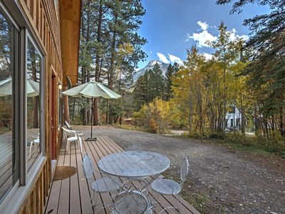 Photo for 'Marble Hideaway Cabin' w/Deck, Grill & Mtn Views!