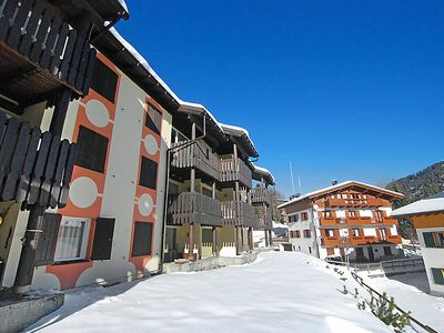 Photo for One bedroom Apartment, sleeps 5 in Madonna di Campiglio with WiFi