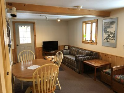 Photo for Cozy 2 bedroom minutes from Okemo base lodge.