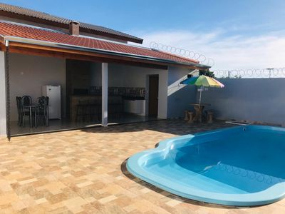 Photo for Brand new temp house with air conditioning, pool and gourmet area, amazing