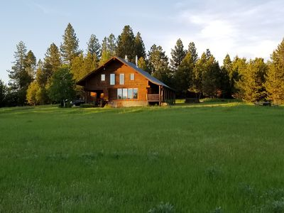 Photo for Your Own Private Idaho!  McCall Log Home on 13 Acres
