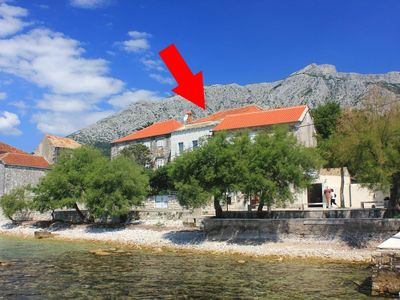 Photo for Two bedroom apartment near beach Orebić (Pelješac)