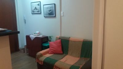Photo for Studio facing the beach.  Air conditioning and wifi