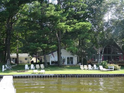Photo for Home on the lake. Walk out your door for Swimming, boating or morning coffee.