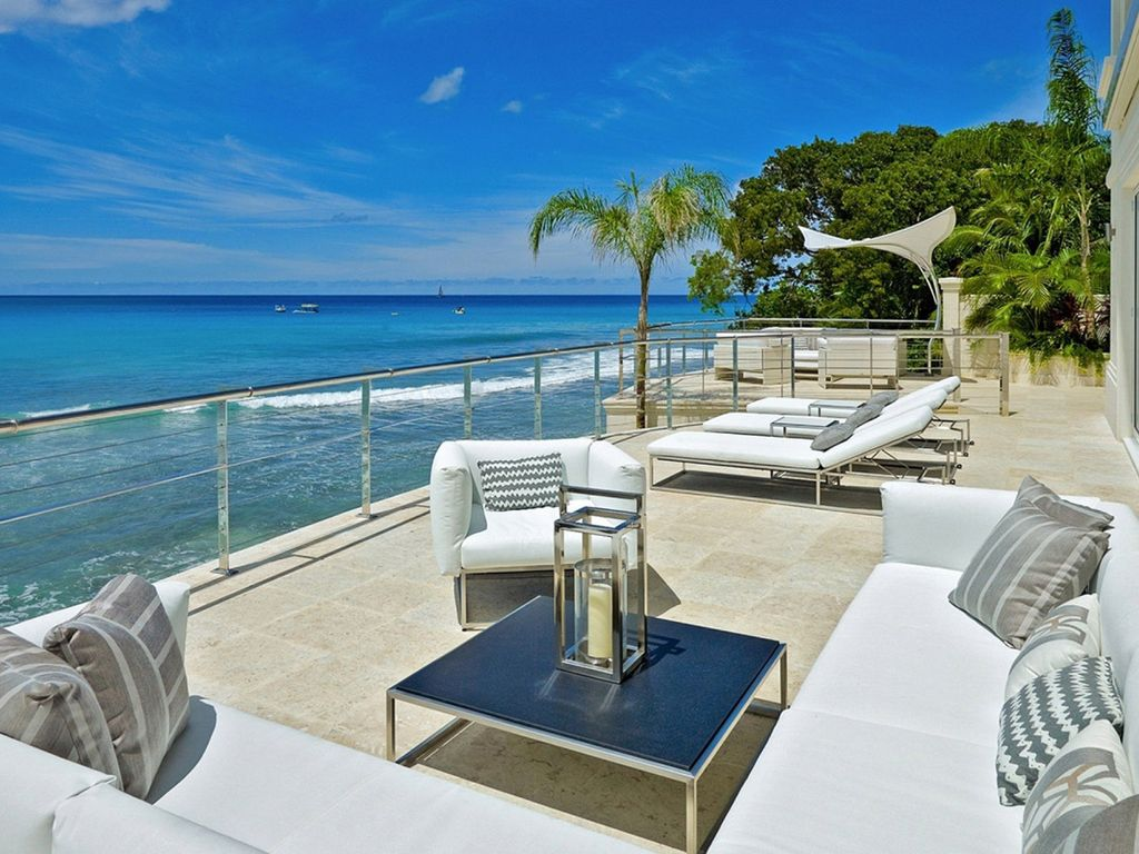 Bonita Bay Barbados Exquisite 6 Bedroom Beachfront Villa