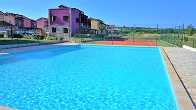 Photo for Two Bedroom Apartment Pezzi Yellow with Common Pool and Tennis Court